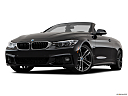 2019 BMW 4-series 440i Convertible, front angle view, low wide perspective.
