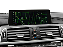 2019 BMW 4-series 440i Convertible, driver position view of navigation system.