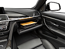2019 BMW 4-series 440i Convertible, glove box open.