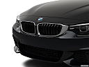 2019 BMW 4-series 440i Convertible, close up of grill.