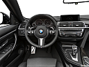 2019 BMW 4-series 440i Convertible, steering wheel/center console.