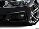 2019 BMW 4-series 440i, driver's side fog lamp.