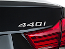 2019 BMW 4-series 440i, rear model badge/emblem