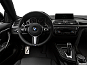 2019 BMW 4-series 440i, steering wheel/center console.