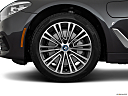 2019 BMW 5-series 530i, front drivers side wheel at profile.