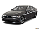 2019 BMW 5-series 530i, front angle view.