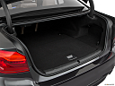 2019 BMW 5-series 530i, trunk open.