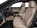 2019 BMW 5-series 530i, front seats from drivers side.
