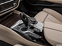 2019 BMW 5-series 530i, gear shifter/center console.