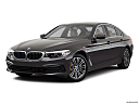 2019 BMW 5-series 530i, front angle medium view.