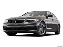 2019 BMW 5-series 530i, front angle view, low wide perspective.