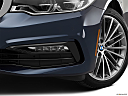 2019 BMW 5-series 530i, driver's side fog lamp.