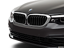 2019 BMW 5-series 530i, close up of grill.