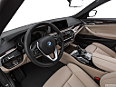 2019 BMW 5-series 530i, interior hero (driver's side).