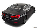 2019 BMW 5-series 530i, rear 3/4 angle view.