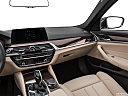 2019 BMW 5-series 530i, center console/passenger side.