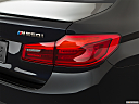 2019 BMW 5-series M550i xDrive, passenger side taillight.