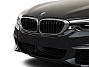 2019 BMW 5-series M550i xDrive, close up of grill.