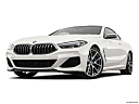 2019 BMW 8-series M850i xDrive, front angle view, low wide perspective.