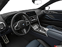 2019 BMW 8-series M850i xDrive, interior hero (driver's side).