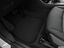 2019 BMW X1 xDrive28i, driver's floor mat and pedals. mid-seat level from outside looking in.