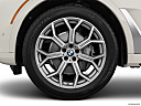 2019 BMW X7 xDrive40i, front drivers side wheel at profile.