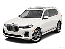 2019 BMW X7 xDrive40i, front angle view.
