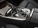 2019 BMW X7 xDrive40i, gear shifter/center console.