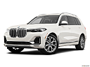 2019 BMW X7 xDrive40i, front angle medium view.