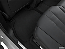 2019 BMW X7 xDrive40i, rear driver's side floor mat. mid-seat level from outside looking in.
