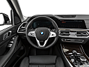 2019 BMW X7 xDrive40i, steering wheel/center console.