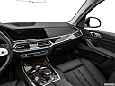 2019 BMW X7 xDrive40i, center console/passenger side.