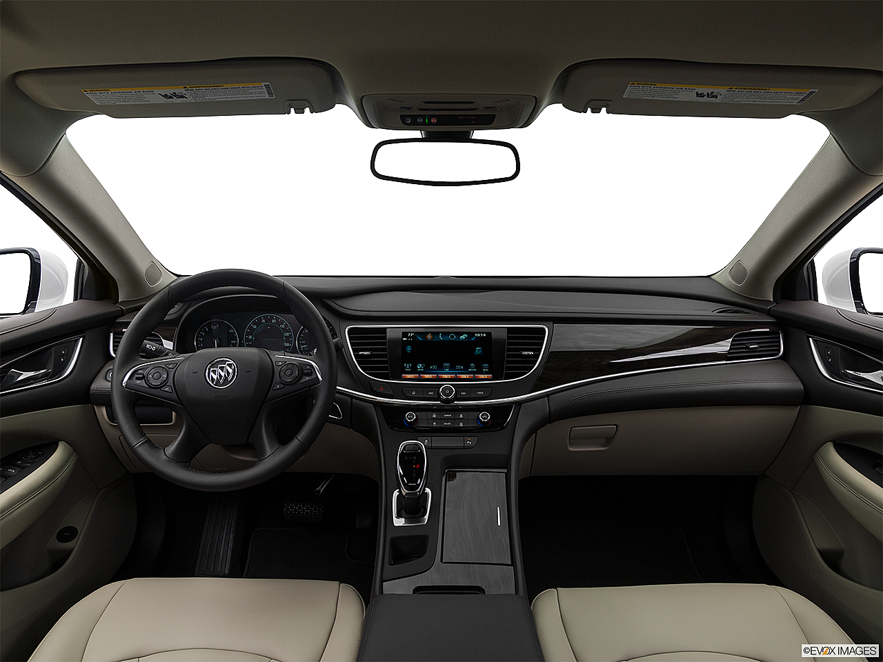 2019 Buick LaCrosse Preferred, centered wide dash shot
