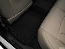 2019 Buick LaCrosse Preferred, rear driver's side floor mat. mid-seat level from outside looking in.