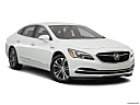 2019 Buick LaCrosse Preferred, front passenger 3/4 w/ wheels turned.