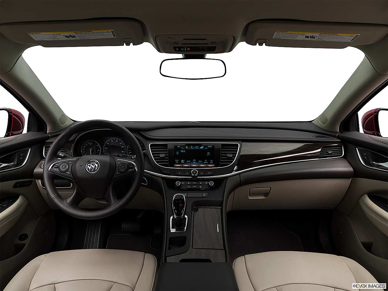 2019 Buick LaCrosse Essence, centered wide dash shot