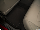 2019 Buick LaCrosse Essence, rear driver's side floor mat. mid-seat level from outside looking in.
