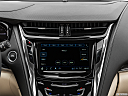 2019 Cadillac CTS Luxury, closeup of radio head unit
