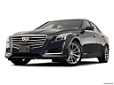 2019 Cadillac CTS Luxury, front angle view, low wide perspective.