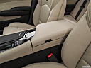 2019 Cadillac CTS Luxury, front center console with closed lid, from driver's side looking down