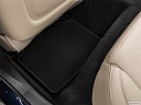 2019 Cadillac CTS Luxury, rear driver's side floor mat. mid-seat level from outside looking in.