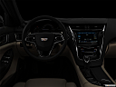 "2019 Cadillac CTS Luxury, centered wide dash shot - ""night"" shot."