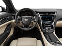2019 Cadillac CTS Luxury, steering wheel/center console.