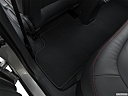 2019 Chevrolet Bolt Ev Premier, rear driver's side floor mat. mid-seat level from outside looking in.