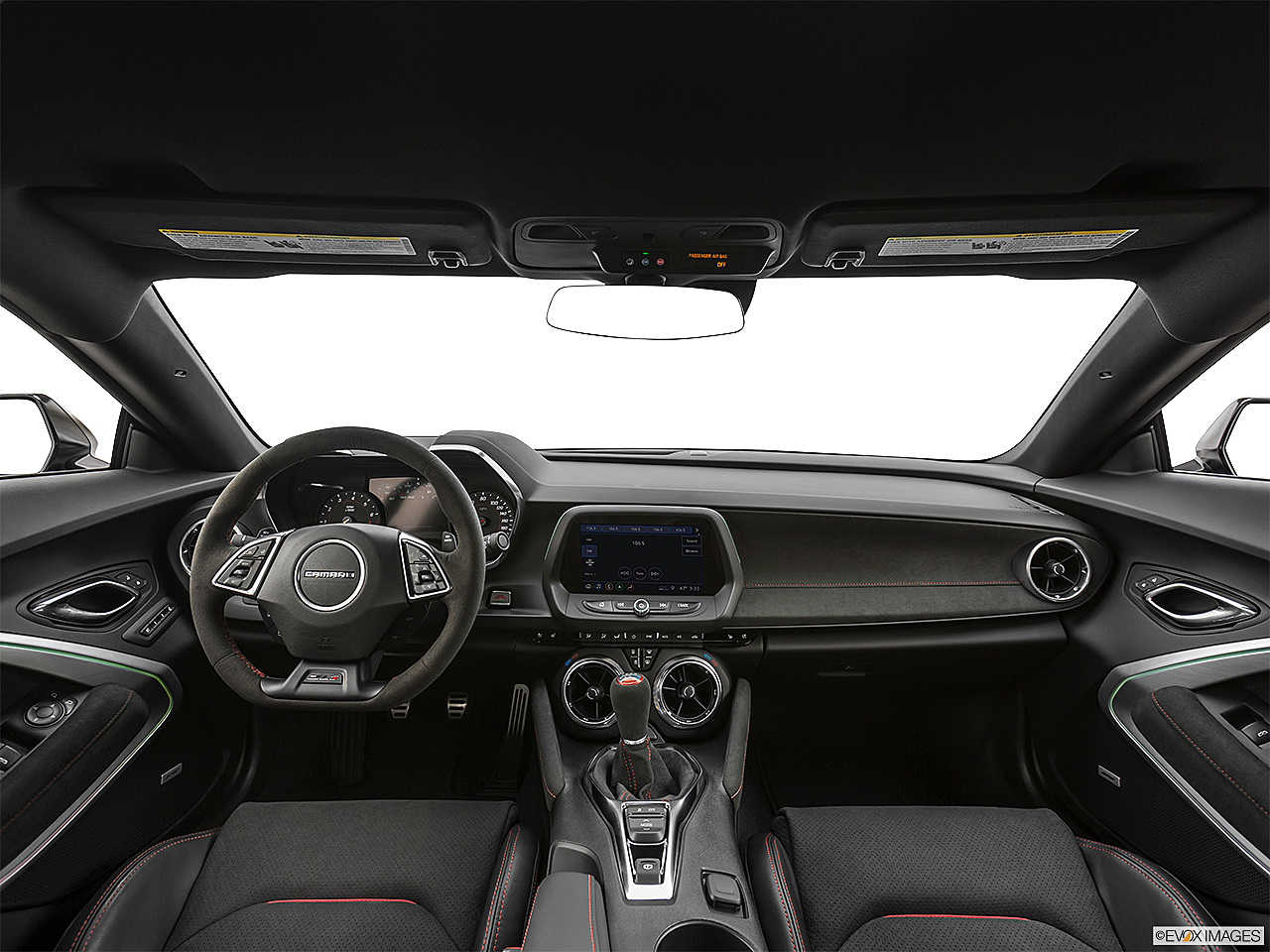 2019 Chevrolet Camaro ZL1, centered wide dash shot