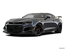 2019 Chevrolet Camaro ZL1, front angle medium view.