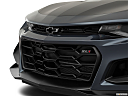 2019 Chevrolet Camaro ZL1, close up of grill.