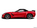 2019 Chevrolet Corvette Grand Sport 3LT, drivers side profile, convertible top up (convertibles only).