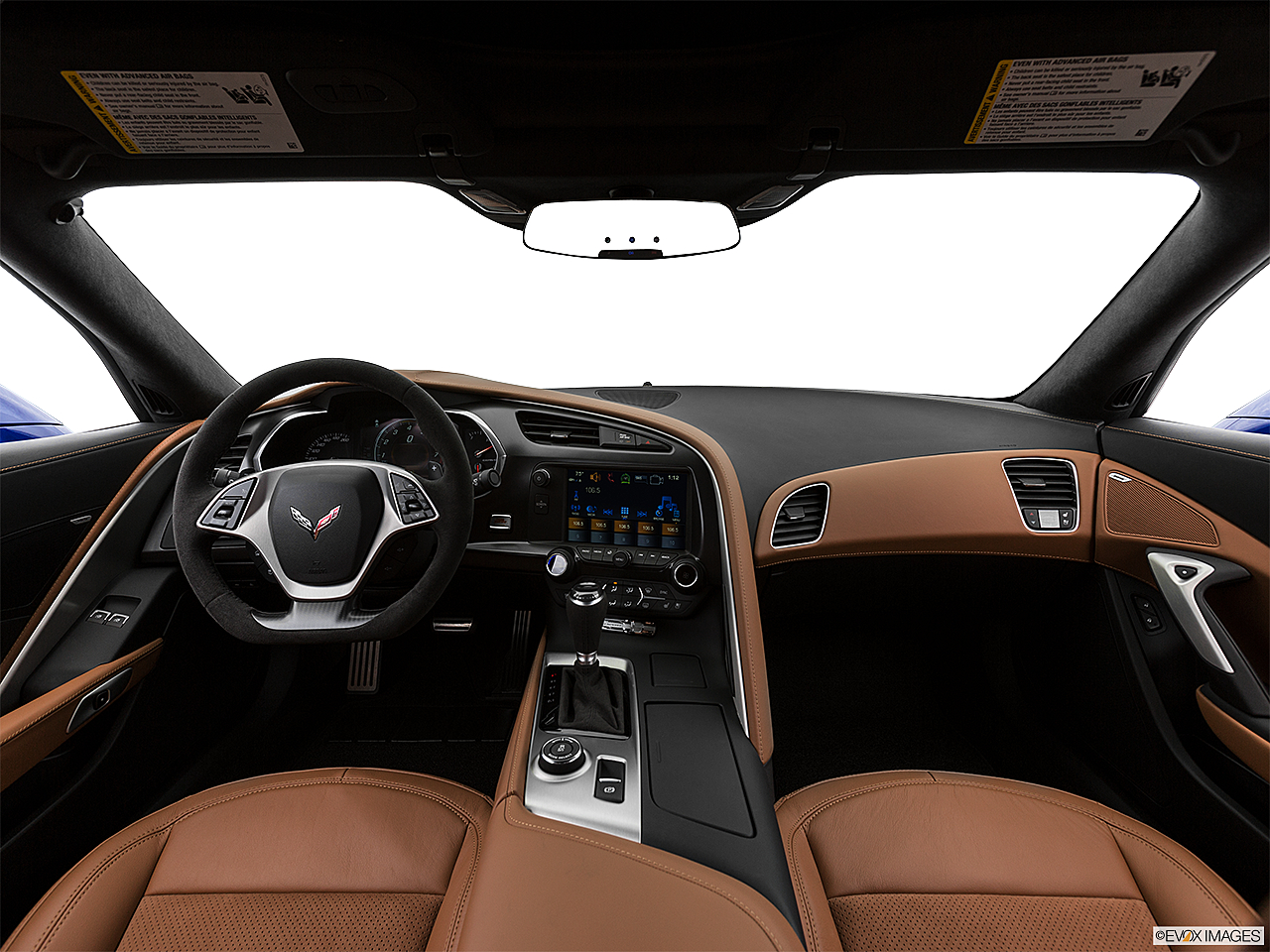 2019 Chevrolet Corvette Grand Sport 3LT, centered wide dash shot