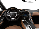 2019 Chevrolet Corvette Grand Sport 3LT, steering wheel/center console.